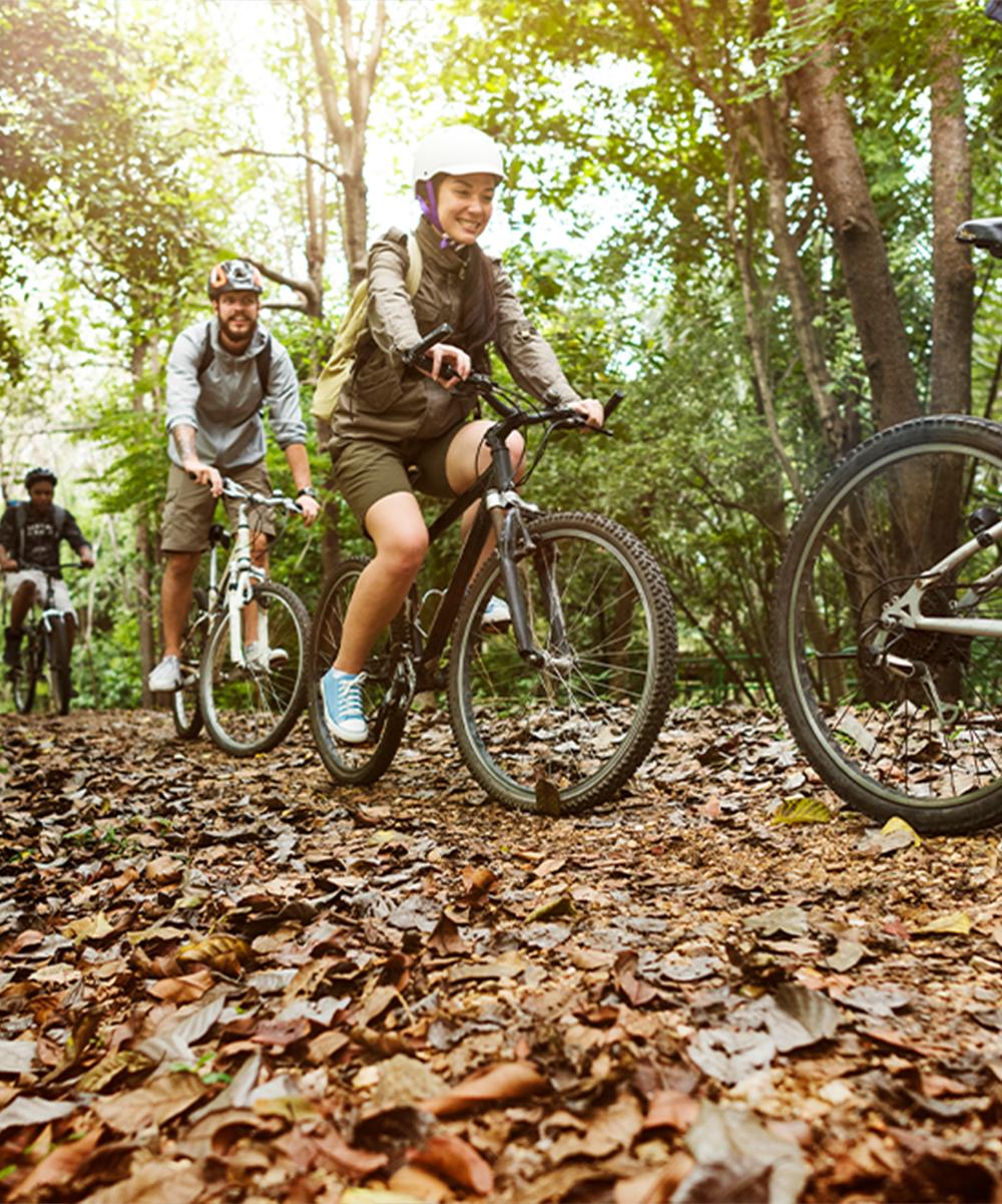 Ścieżki rowerowe - Podziwiaj piękno Gór Opawskich